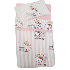 COMPLETO LENZUOLO HELLO KITTY 1 PIAZZA GABEL