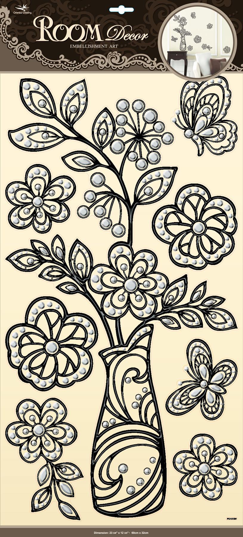 Adesivi decorativi «Flora»