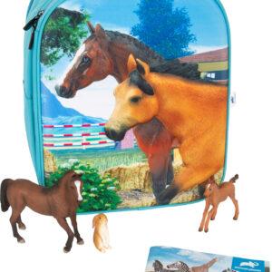 Animal Planet Zaino-Set da gioco 3D Cavallo