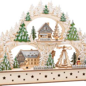 Arco di luci Villaggio invernale
