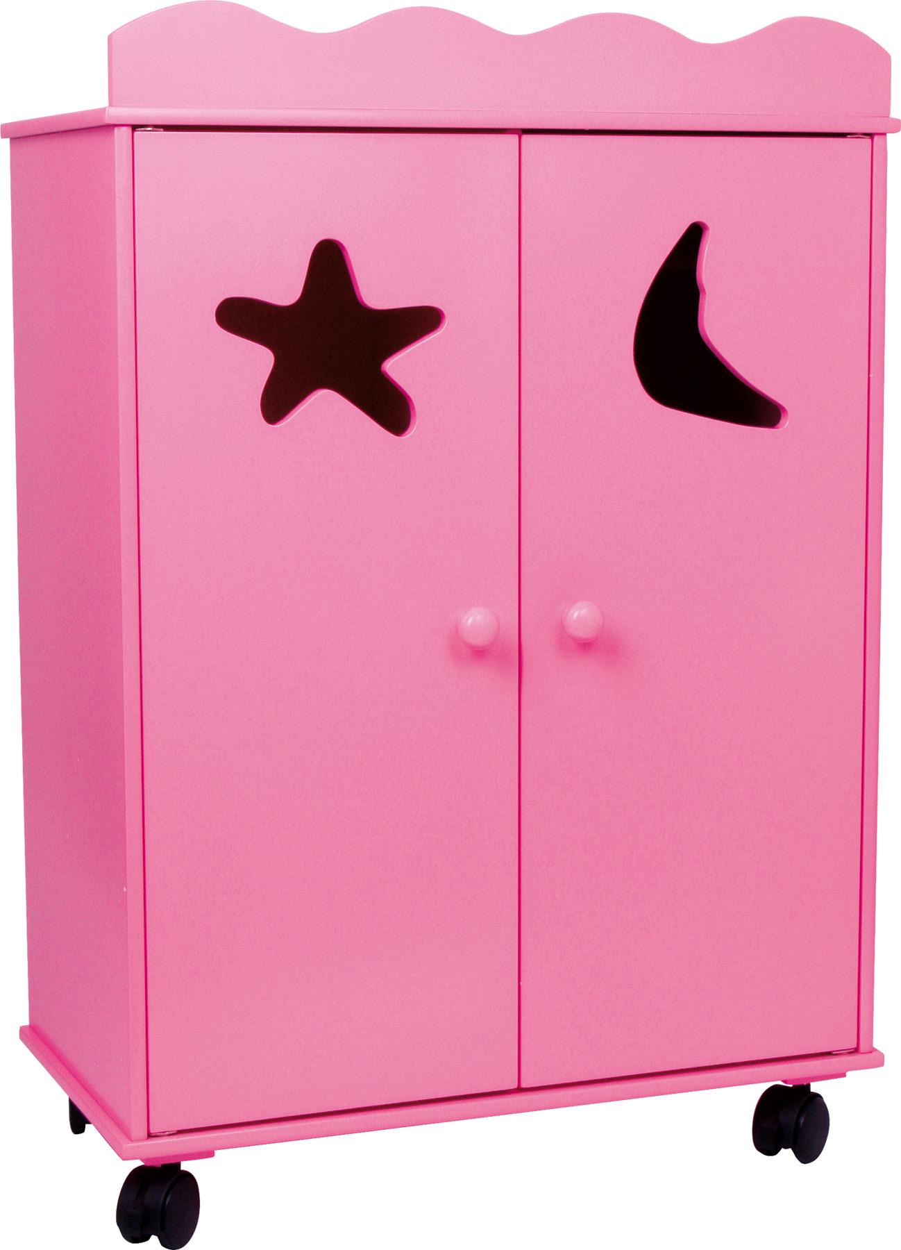 Armadio per bambole, rosa