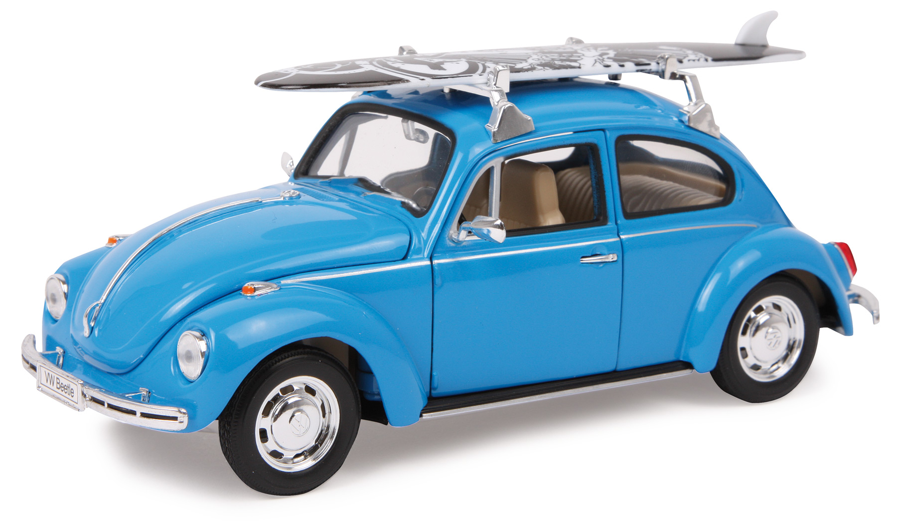 Automodello VW Beetle + tavola da surf