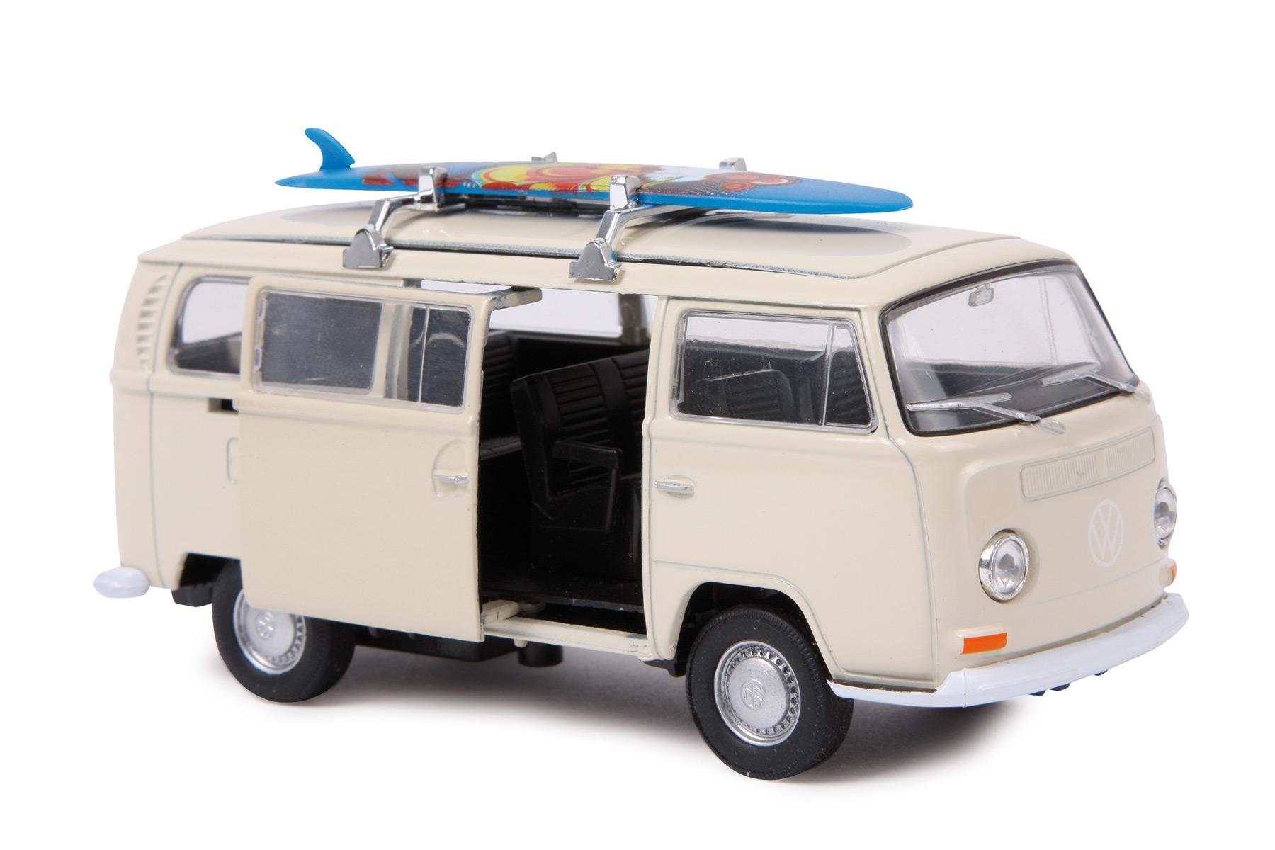 Automodello VW Bus T2 + tavola da surf