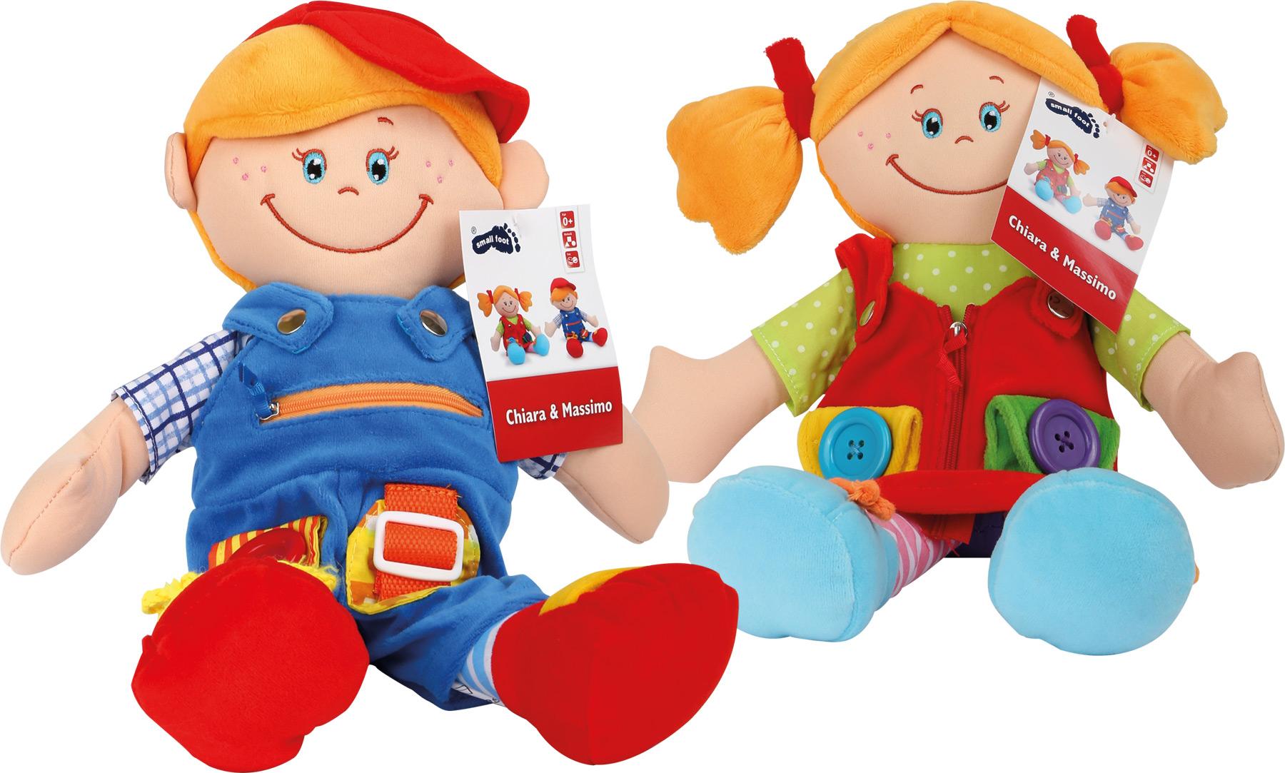 Bambole in stoffa Chiara & Massimo