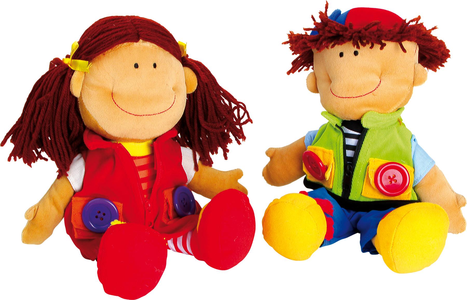Bambole in stoffa Nicoletta e Davide