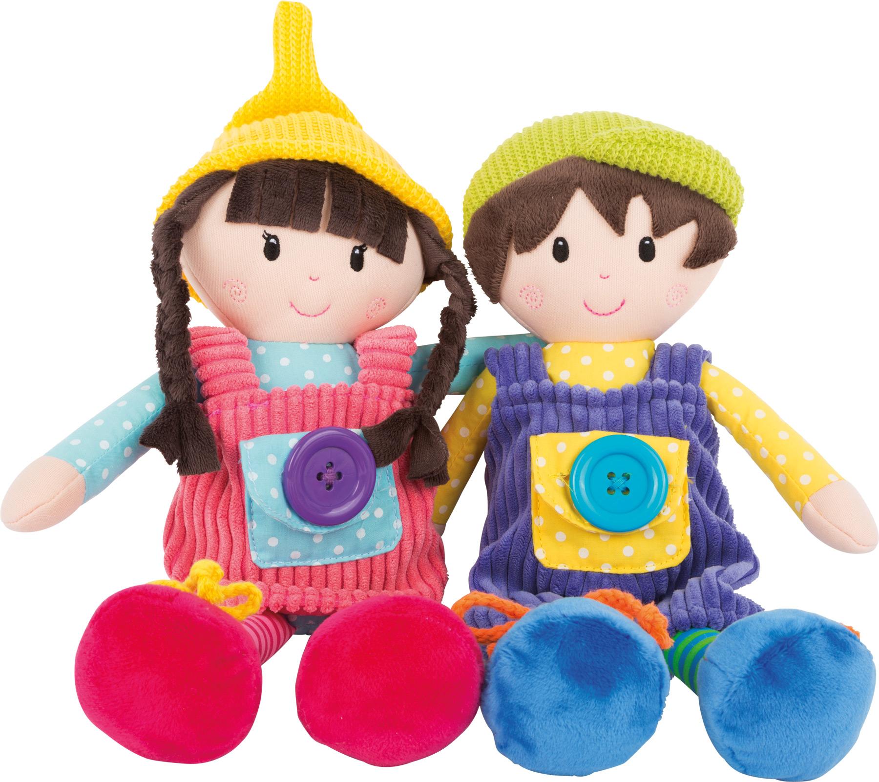 Bambole in stoffa Noah & Emma