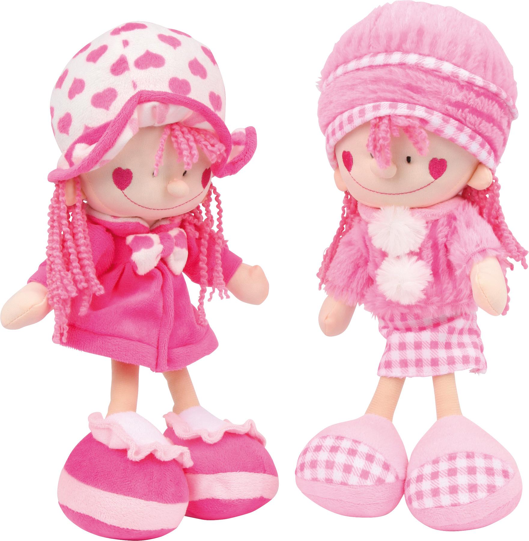 Bambole in stoffa Nora e Emily