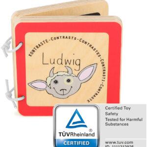 "Libro per bambini (Contrasti) ""Ludwig"""