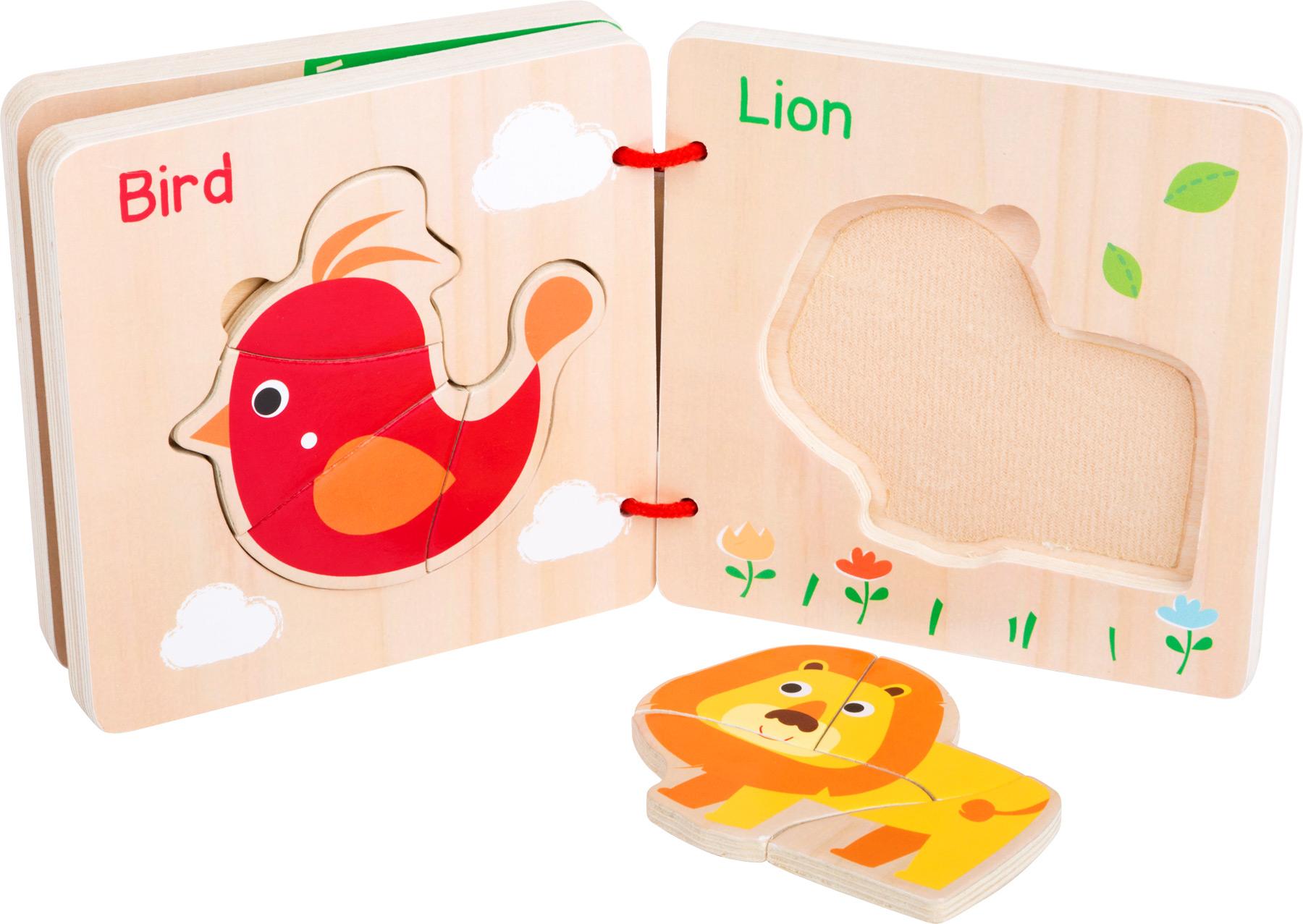 Libro puzzle Animali