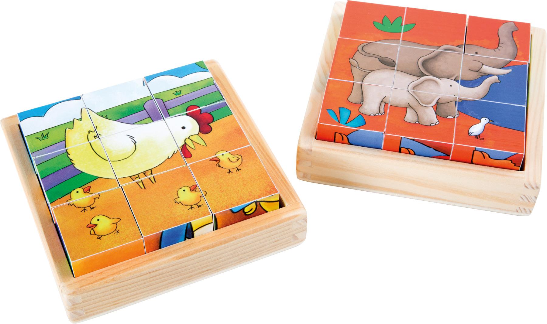Puzzle a dadi Fattoria & Zoo