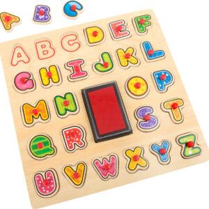 Timbro e Puzzle ABC