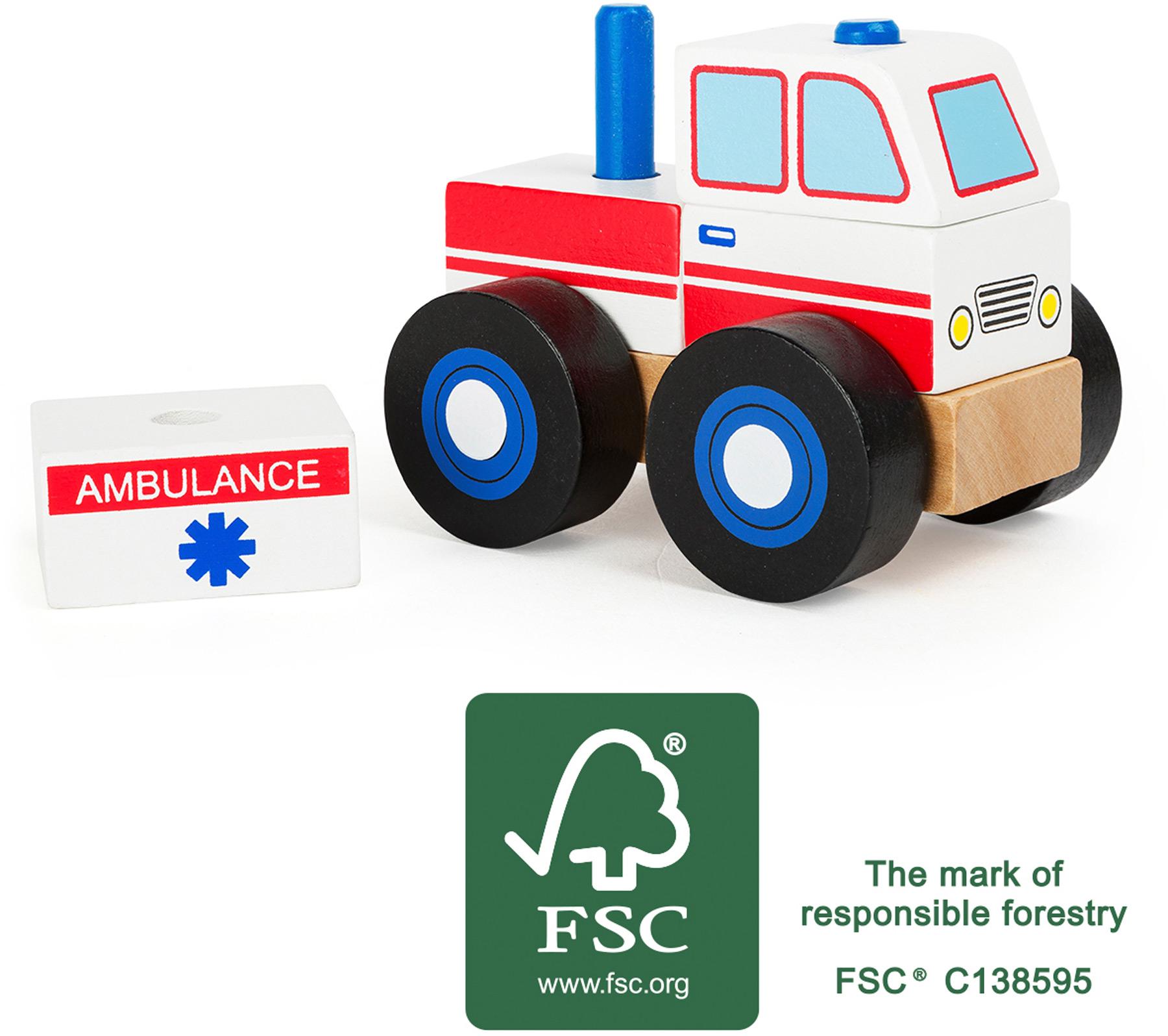 Veicolo da costruire Ambulanza