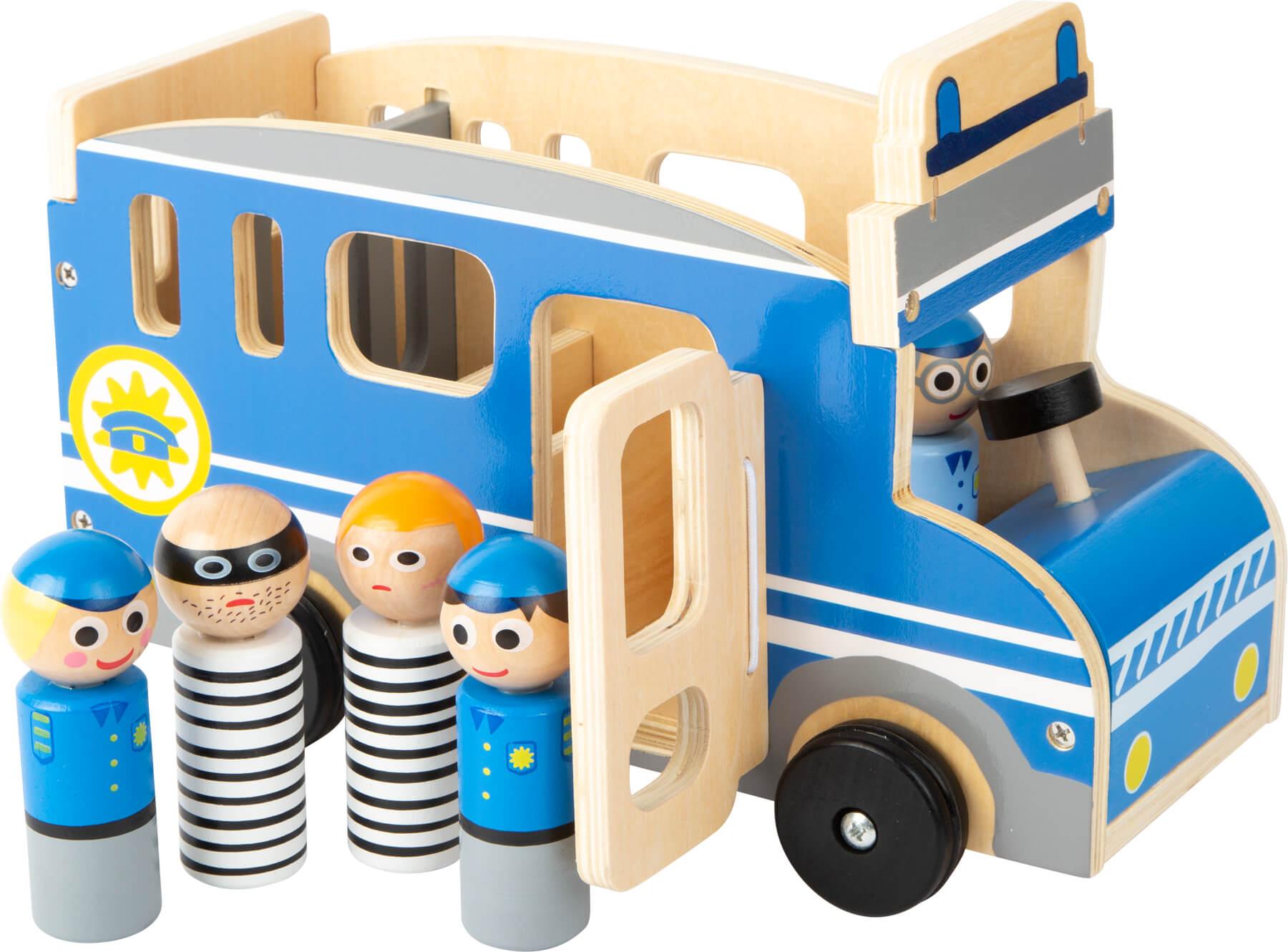 Veicolo da gioco Bus della polizia XL