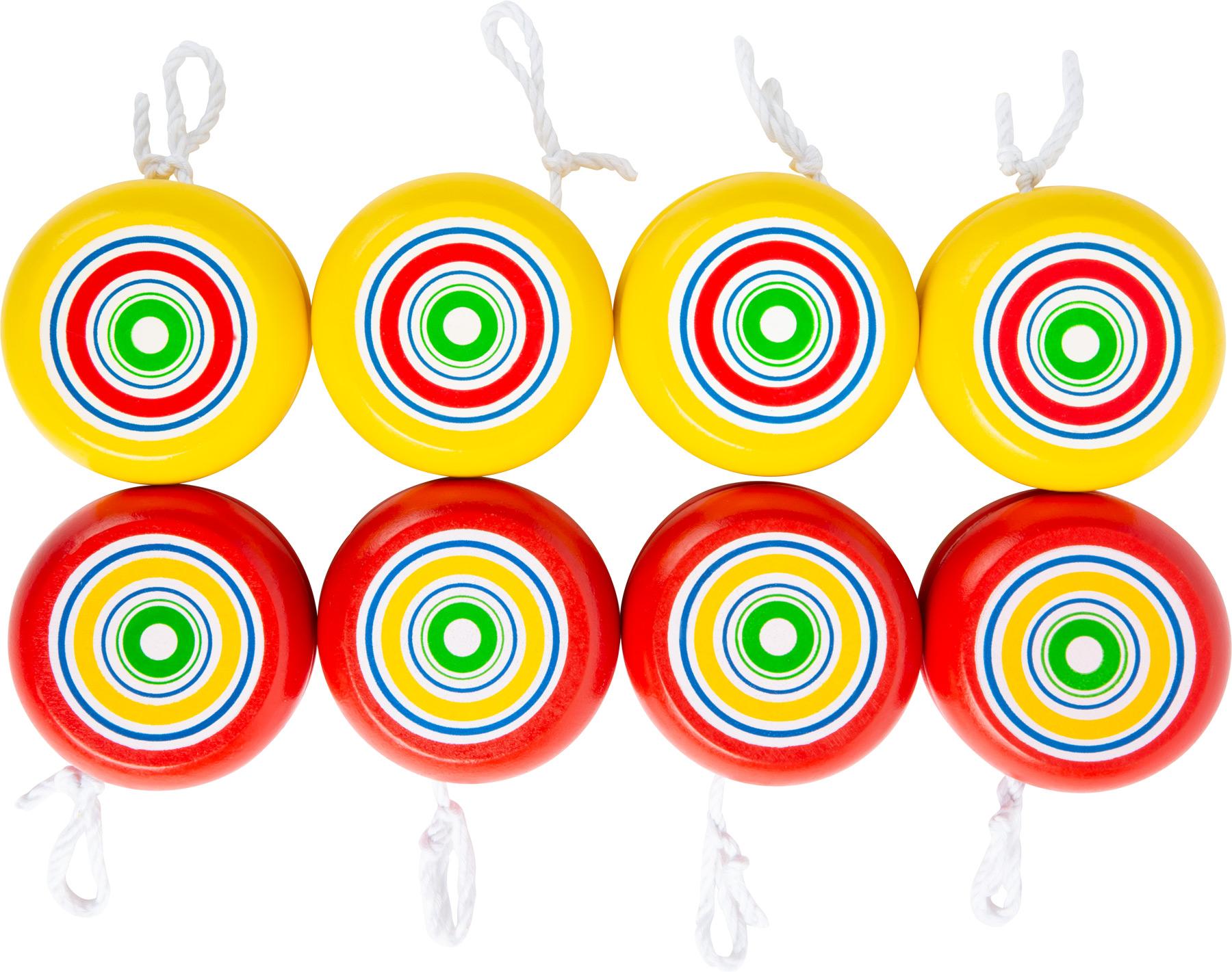 Yo-yo, giallo & rosso